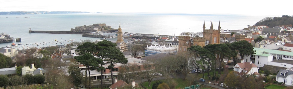 Harbour from Victoria Tower